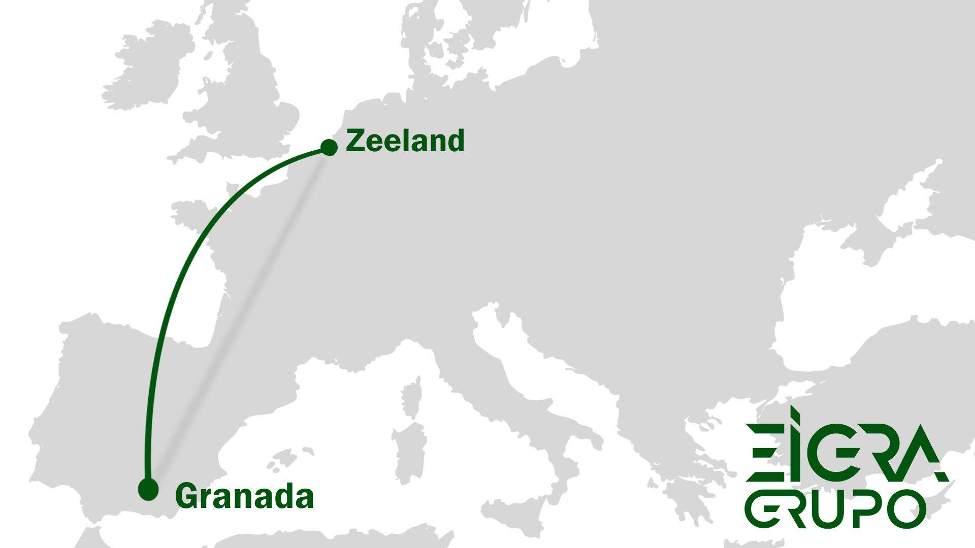 Desde Granada a Zelanda
